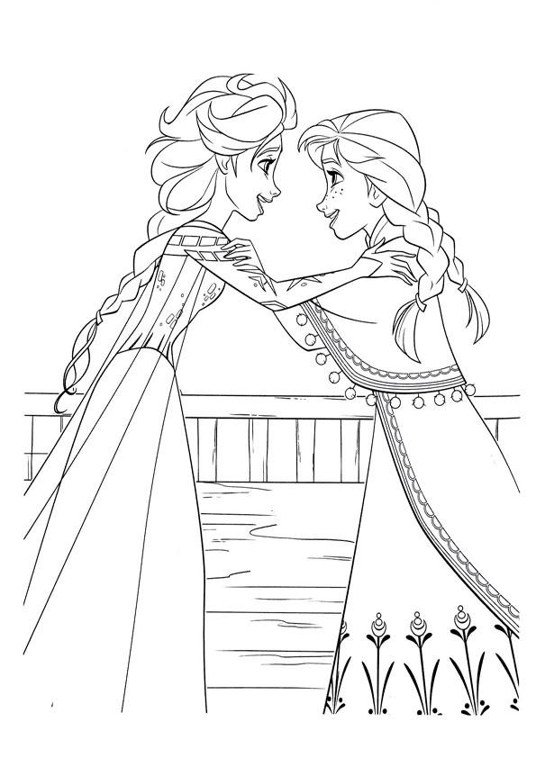 ausmalbilder eiskönigin -1