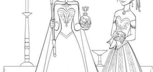 ausmalbilder eiskönigin-4