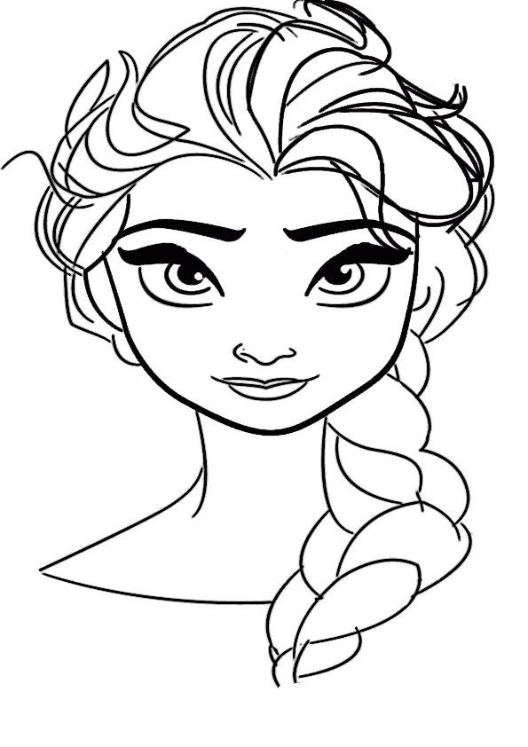 Elsa 3 Ausmalbilder Eiskönigin