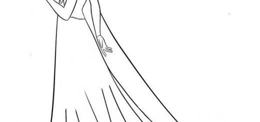 ausmalbilder eiskönigin elsa-6