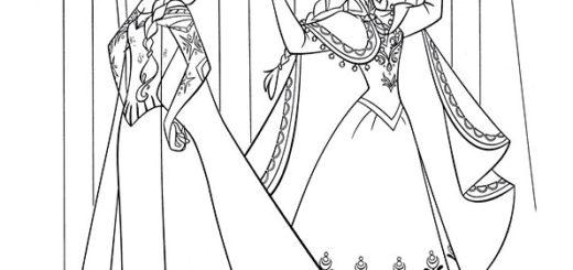 ausmalbilder eiskönigin -17