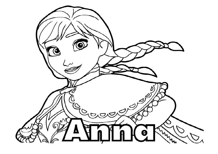 aausmalbilder eiskönigin anna-5