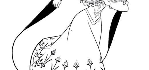 aausmalbilder eiskönigin anna malvorlagen eiskönigin -8