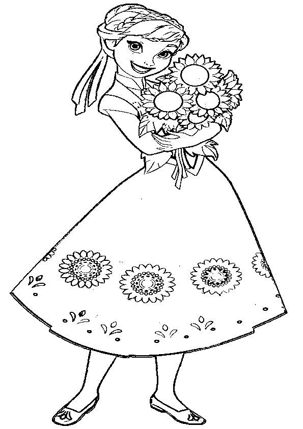 aausmalbilder eiskönigin anna-11