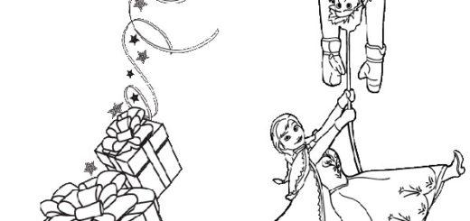aausmalbilder eiskönigin weihnachten- 5