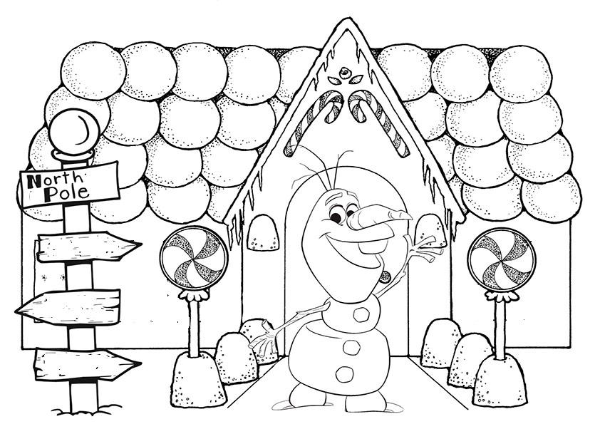 aausmalbilder eiskönigin weihnachten-7