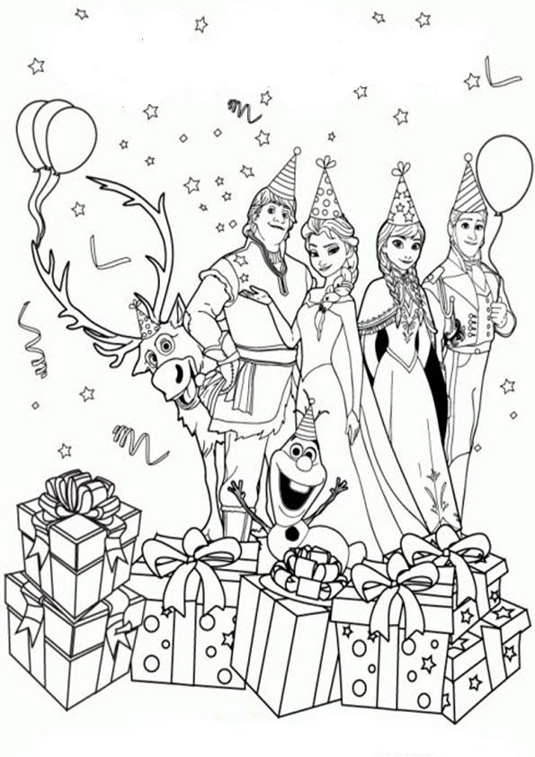 aausmalbilder eiskönigin geburtstag-16